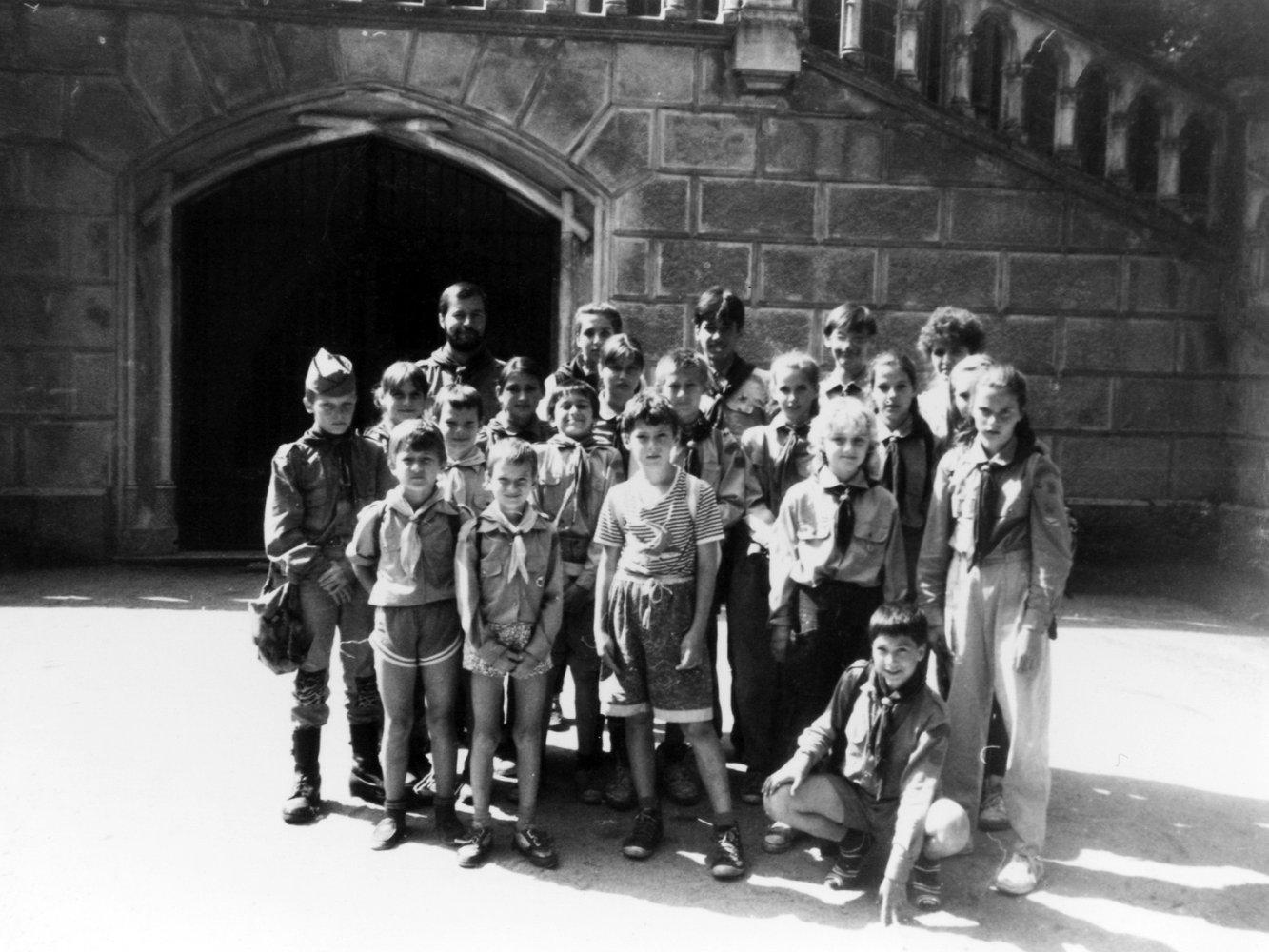 Tábor prvních bobříků 1992